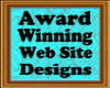 Award Winning Web Site Designs logo!
