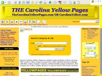 Carolina Yellow Pages went online 4 years ago!