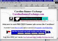 Carolina Banner Exchange website home page