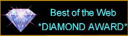 Best of the Web Diamond Award!