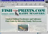 Fish-Prints.com = Fish prints by wildlife artist Randy McGovern