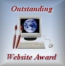 The Outstanding Website Award from Online Web Creations!