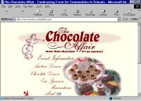Home Page of The Chocolate Affair in Charleston SC